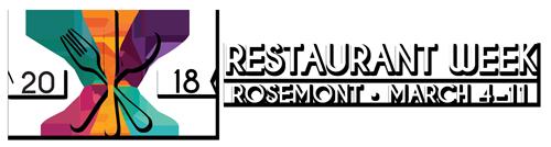 Rosemont Restaurant Week